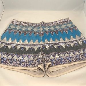 Beaded/ sequence short shorts!